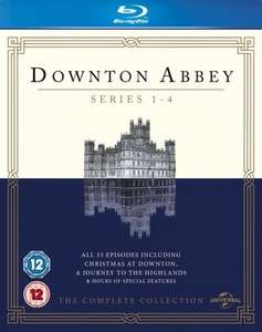 Downton Abbey series 1-4 bluray £14.99 @ zoom.co.uk