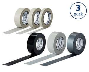 3 x Rolls Tape Selection £2.49 @ Aldi