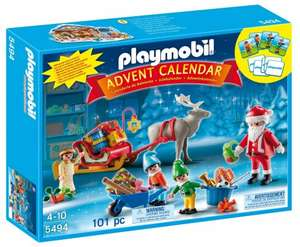 Playmobil 5494 Christmas Advent Calendar Santas Workshop  £18.99 to £9.96  (Prime) / £13.26 (non Prime) @ Amazon