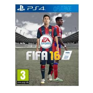 Fifa 16 PS4/XBOXONE *PRE-ORDER* £40.49 @ Game