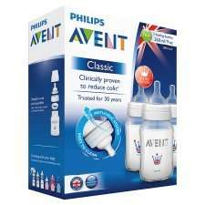 Philips Avent Bottles 9Oz Scf642/37 3 Pack was £14.50 now £7.25 @ tesco online