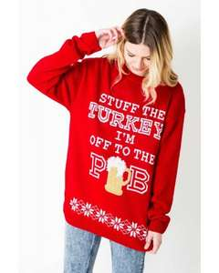 Christmas jumpers in 4 designs £5.99 delivered WITH CODE at Daisystreet