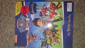 Paw Patrol Busy book (story, playmat and 12 small figures) £3.99 in Sainsburys
