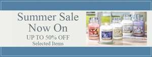 Yankee Candle Sale up to 50% off