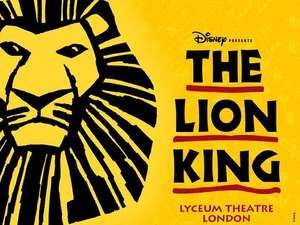 Disney's The Lion King Tickets - £29.10 - London @ Amazon Local / Sold by Ingresso