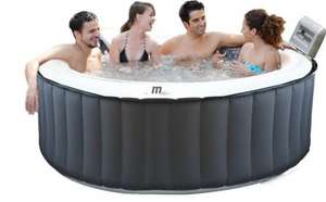 Self Inflating Hot Tub Spa (MSPA M-011LS) 700l, 1.8M, 42 degrees, 115 air jets £249.99 @ ebuyer Free Delivery