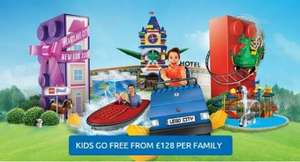 Legoland Winsor Flash sale - family breaks from £128 + Kids go free + 20% off food and drinks and a FREE second day in the park