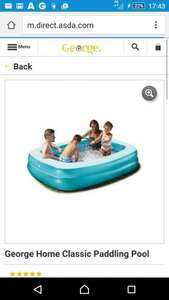 good size pool for a few kids at a decent price £10 + £2.95 del (£12.95) @ George Asda
