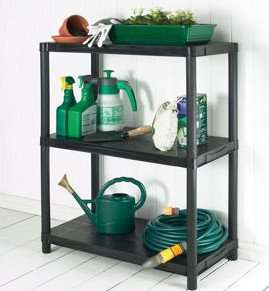 ** Keter 3 Tier Shelving 91 x 60 x 38cm now only £5.93 @ Homebase **