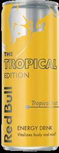 Free Tropical Cans of Red Bull (Find 3 cans) Limited amount each day FB Required
