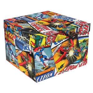 Large Storage Boxes (Collapsible) - Batman, Superman, Justice League, Breaking Bad, Dr Seuss, Roald Dahl & Many More - 2 for £10 + FREE Delivery @ The Works