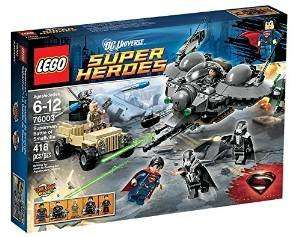 LEGO Super Heroes 76003: Superman Battle of Smallville £24.99 @ Amazon