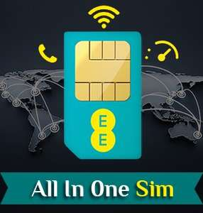 EE Sim Only Deal - £12.99pm (£0.99/month after AUTO cashback) @ Direct Mobiles