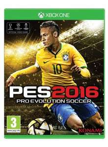 {Xbox One/PS4} Pro Evolution Soccer 2016 (PES 2016): Day 1 Edition £32.75 @ Gameseek