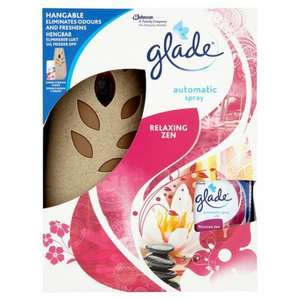 Glade Automatic Spray Holder Relaxing Zen - Half Price - Now £5 from £10 @ Tesco (Instore & Online)