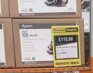 Dyson DC28C ball (refurb) was £299, down to £115.99 @ Clearance Bargains (Stanley)