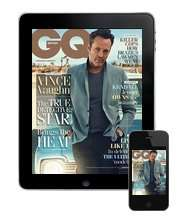 GQ July Issue for iPad or iPhone totally free