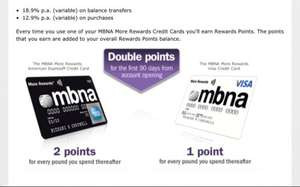 MBNA Reward Credit Card