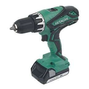 Hitachi DV18DGL/JC 18V 1.5Ah Li-Ion Cordless Combi Drill - £99.99 @ Screwfix