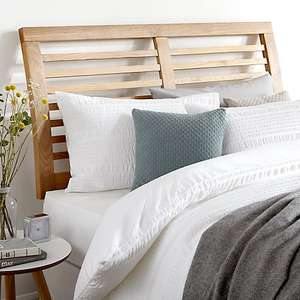 John Lewis Marlow Headboard, Kingsize (Solid Oak) Reduced from £175 to £49