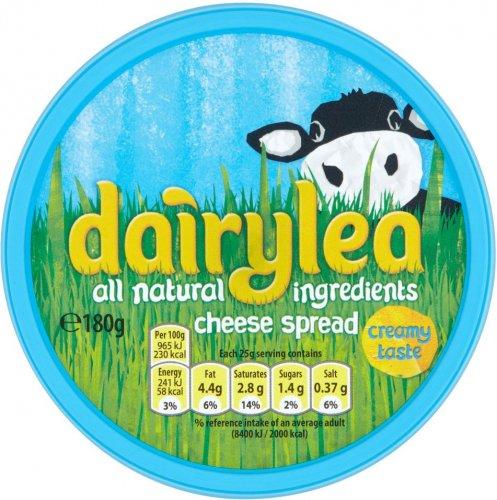 Dairylea Cheese Spread (180g) was £1.50 now 75p @ Tesco