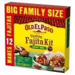Old El Paso ' Fajita Kit ' Smoky BBQ 29p Farmfoods LLANELLI (Family Pack Makes 12)