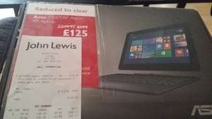 Asus T100TAF Transformer Netbook Refurb. Windows 8.1 £125 Instore @ John Lewis