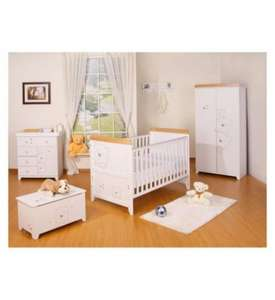 Tutti Bambini 3 Bears 5 Piece Room Set from Boots £408.91 with 10% off code JYFPD75