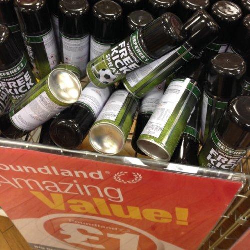 Referee vanishing spray £1 instore @ poundland