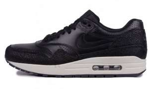 Nike Air Max 1 Leather Black Sea Glass at 5Pointz £57.99