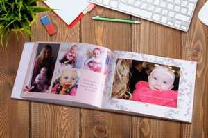 106-Page Hardback A4 Photobook £19 + £5.95 postage instead of £97.49 (from Smiley Hippo) @ Wowcher