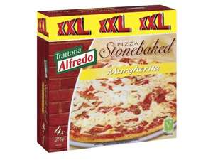 4x LIDL Stonebaked Margherita XXL Pizzas for £2.35 (Starts Thursday 9th July 2015)