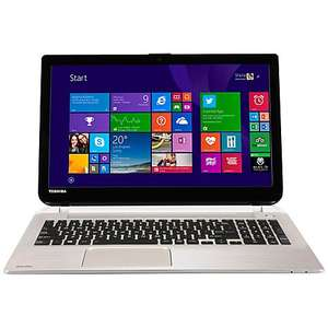 "Toshiba Satellite S50D-B-100 Laptop AMD A10 8GB RAM 1TB 15.6"" Metallic - £349.95 @ John Lewis"