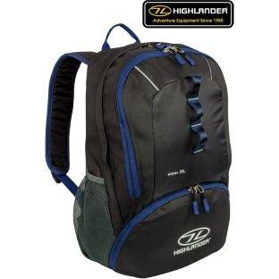 Highlander Starav 25L Rucksack - Black and Blue £14.69 @ Argos