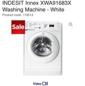Indesit 9kg 1600rpm Washing Machine + 6months supply of Ariel £259 @ Currys