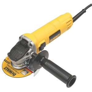 DeWalt DWE4050-GB, 800 watt, 115mm angle grinder, £39.99 delivered @ Screwfix