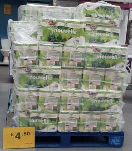 B&Q Romford - 16 pack Nouvelle toilet rolls £4.50