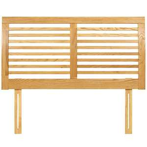 John Lewis Marlow Oak Headboard, Natural, Double -- Reduced £150 to £45
