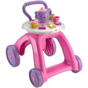 Fisher-Price Laugh & Learn Musical Tea Cart Walker £14.99 at Argos