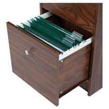 Isaac 2 Drawer Filer Filing Cabinet, Walnut or Oak Effect £8.75 (was £35) @ Tesco Direct