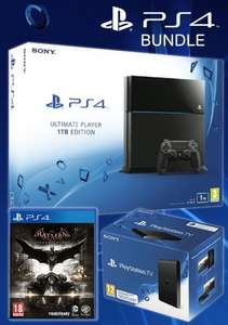 Sony PS4 1TB Ultimate Player Console & FREE PSTV + Batman: Arkham Knight for £289.99 @ Xtra Vision