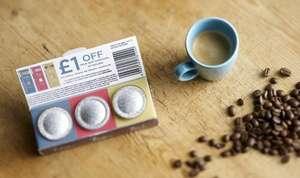 3 free nespresso compatible pods @ Taylors coffee