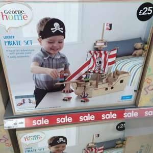 Asda wooden pirate ship. Now only £10 @ Asda Huyton (in store only)