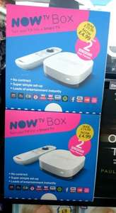 Sky Now TV box + 2 x Sky Sports Day Passes - £4.99 instore at WH Smith