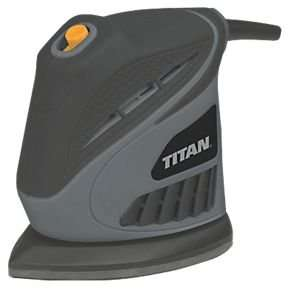 Titan TTB595SDR 130W Detail Sander 240V £9.99 (save £5) Click and Collect @ Screwfix