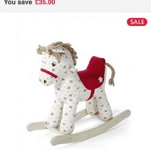 Mamas and papas rocking horse £34.99 at mothercare