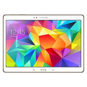 "Samsung Galaxy Tab S 10.5"" Screen,  £50 cash back £349.99 @ Currys & John Lewis"