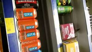 Cans of Orange and Blue Wkd 79p in BM stores