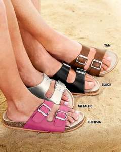 Cotton Traders 'BIrkenstock' style unisex sandals £8.00 £3.99 delivery or free collection at Wyevale outlets or Cotton Traders stores