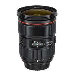 Canon 24-70 f/2.8L II 0% APR for 2 years £58pcm £1400.00 @ Calphoto